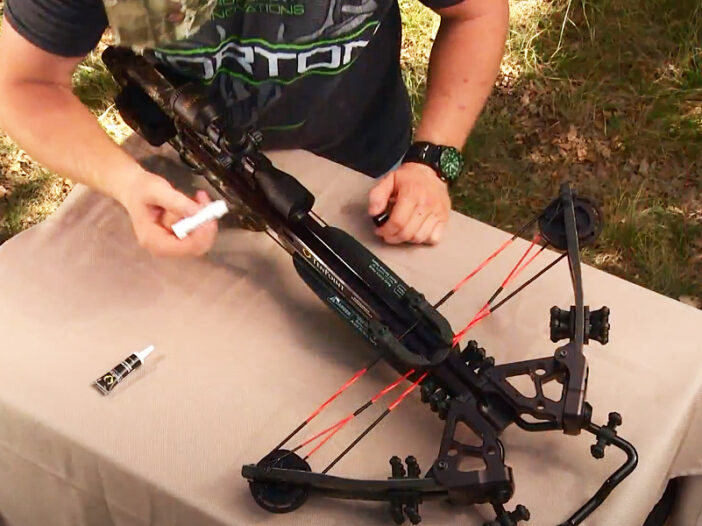 maintaining a crossbow
